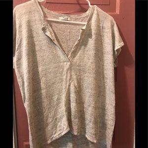 MADEWELL 100% LINEN Ladies T Shirt